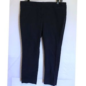 LADIES NAVY BLUE PANTS PETITE SIZE 12 (C-149)